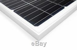 100 Watt Mono Solar Panel Kit with Charge Controller & Wire Kit Monocrystalline