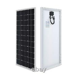 100-watt 12-volt monocrystalline solar panel compact design renogy new power