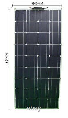 100 watt Solar Panel, Flexible, Portable Solar Panel, Camping, Prepping, RV! USA