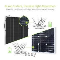1000 Watt Portable Monocrystalline Solar Panel 18v Rv Car Battery Charger