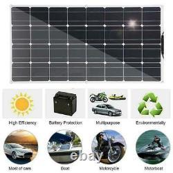 1000W Watt Portable Monocrystalline Solar Panel 18V RV Boat Car Battery Charger