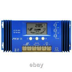 100W 200W 400W 600W Watt Flexible Solar Panel Kit For RV Marine Battery Charge