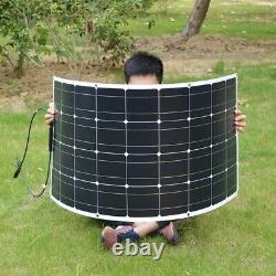 100W Flexible Solar Panel kit 100Watt Solar Charger for Home Outdoor RV Car Boat