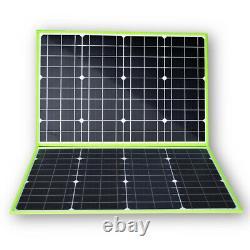100W Watt 20V Foldable Solar Panel Portable Charger for 12V Battery Outdoor