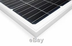 100W Watt Solar Panel Mono 12V Volt for Off Grid RV Boat Battery Charge Germany