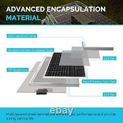 100Watt 12Volt Monocrystalline Solar Panel 42.4X20.0X1.38 in High Efficiency