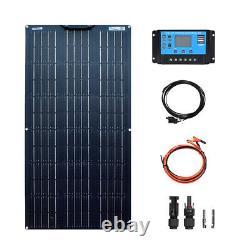 100w 12v Solar Panel Kit 100 Watt 18v Flexible Mono module 20A controller Car RV