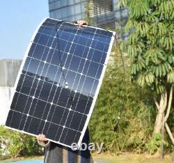 100w Watt 18v Flexible Solar Panel for Boat, Car, Caravan, 12v Battery Charger