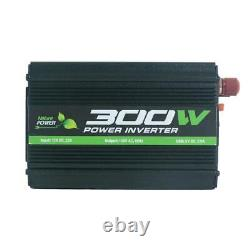 110-Watt Polycrystalline Solar Panel with 300-Watt Power Inverter and 11 Amp