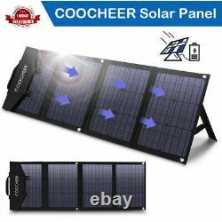 120/60-Watt Solar Panel Foldable Monocrystalline Solar Panel Charger with 3Output