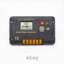 120W 240W Watt Solar Panel Kit High Efficiency For Battery Charger Trailer Home