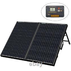 120W WATT Foldable Solar Panel Kit Monocrystalline Camping Battery Charge