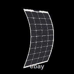 130W Watt Flexible Solar Panel Off-Grid Battery Charger For Car/Boat/Camping/RV