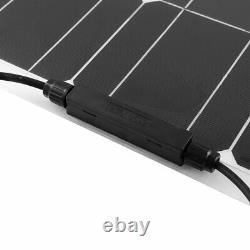 150W watts Solar Panel for off-grid RV marine cabin camping battery charger USA