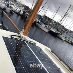 160W Flexible Solar Panel Kit 160 Watt 22V Battery Power Charge For RV car Boat