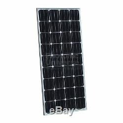 160W PV solar panel 5m cable for 12V battery camper caravan boat yacht 160 watt