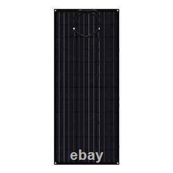 2 Pack 100 Watt ETFE Flexible Solar Panels Light & Slim Monocrystalline New