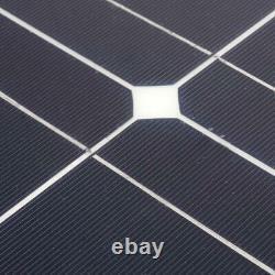 20-240 Watt Class-A Mono Semi Flexible Solar Panel For RV Boat Camping XN