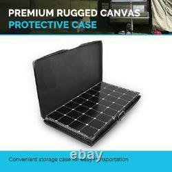 200-Watt Eclipse Monocrystalline Solar Suitcase without Controller