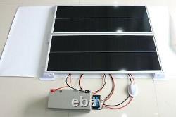 200 Watt Solar Complete System For Camper, Caravan & Mobile Home Solar