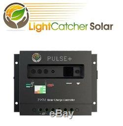 200 Watts Mono Solar Panel kit 30A Charge Controller RV Boat Home Battery Charge