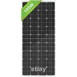 200W 400W 600W 800W Watt Solar Panel Kit for Battery Charge & Controller Home RV