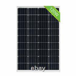 200W Watt Solar Panel Kit 2x120W 18v + Controller For RV Boat Trailer Off Grid
