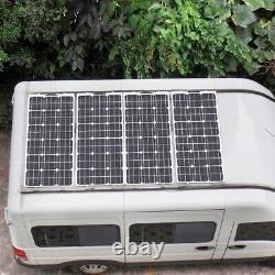 200W Watt Solar Panel Mono 12V/24 Volt for Off Grid RV Boat Battery Charge