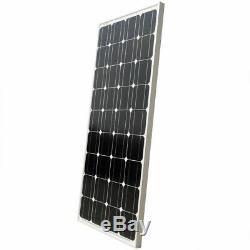 200Watt Mono Solar Panel Kit With 20A Solar controller for RV Boat Caravan Home
