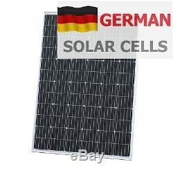 250W 12V solar panel with 5m cable for camper / caravan / boat 250 watt module