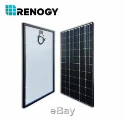2PCS Renogy 300W Watt Mono Solar Panel 600W 24V 48V PV Power Home Cabin 120 Cell
