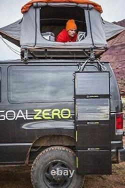 3 Goal Zero Nomad 100 Watt Monocrystalline Portable Solar Panel