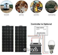 300 Watt Mono Solar Module Off Grid System Flexible Solar Panel Motorhome RV Car