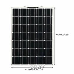 300W 150WX2 Watts 12V Mono Solar Panel High Efficiency Module RV Boat Camping US