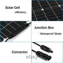 300W 600 Watt Portable Monocrystalline Solar Panel 18V RV Car Battery Charger