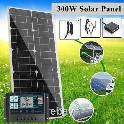 300W Solar Panel 300 Watt Monocrystalline 12V Flexible Camping RV Marine MPPT