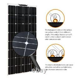 300W Watt Solar Panel for RV Marine Battery Charging Kit Marine Caravan Charger