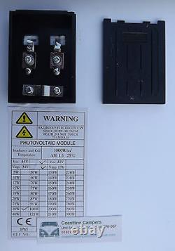 30W MONOCRYSTALLINE SOLAR PANEL 24V CHARGER 30 WATT 24 volt suit lorry horsebox