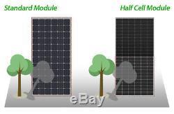 330w x15 (4950 watts) Solar Panels (15=1/2pallet) Mono, PERC, all black