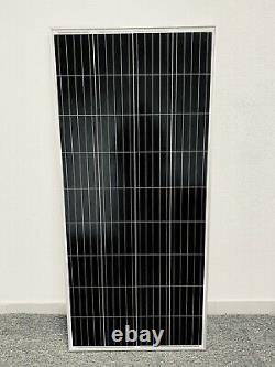 400 Watt 12 Volt Mono Solar Panel 400w 12V Off Grid RV Marine Battery Charging