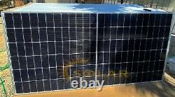 440 watt mono solar panels new tier 1 grade A full sealed pallet of 30 panels