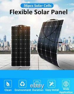 600W 500W 300W 250 Watt Monocrystalline Solar Panel 18V RV Car Battery Charger