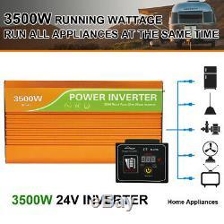 8-200W 1600W Watt 24 Volt Complete Solar Panel System For Home Garden Farm