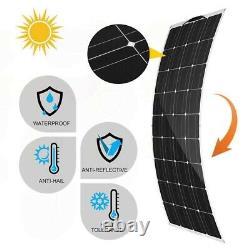 800W 400 Watt Monocrystalline Solar Panel Kit 18V Power RV Car Battery Charger