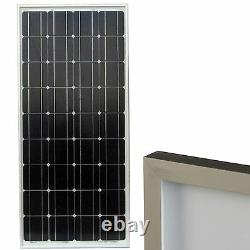 90 Watt Solar Electric Power Panel 12V Monocrystalline PV Module Photovoltaic