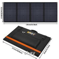 Best 16120W Solar Panel 100 Watt Module Monocrystalline 12V Camping RV Marine
