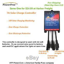 Bosch Plug-n-Power Kit 30W 30 Watt Mono Solar Panel Charger 12v Battery RV Boat
