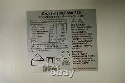 Crossroads-Solar 325W Watt Solar Panel Residential 60 Cell Monocrystalline Panel
