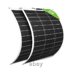 ECO 130W 260W 520W 780W 12V Mono Flexible Solar Panel for RV Boat Home Off grid