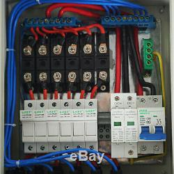 ECO 1KW 1200W WATT Solar Panel Kit PV Combiner Box 60A Controller for Home Cabin